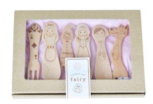 画像1: カトラリーセット fairy(フェアリー) (1)