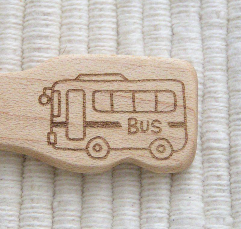 画像3: のりもの◆バス スプーン&フォーク