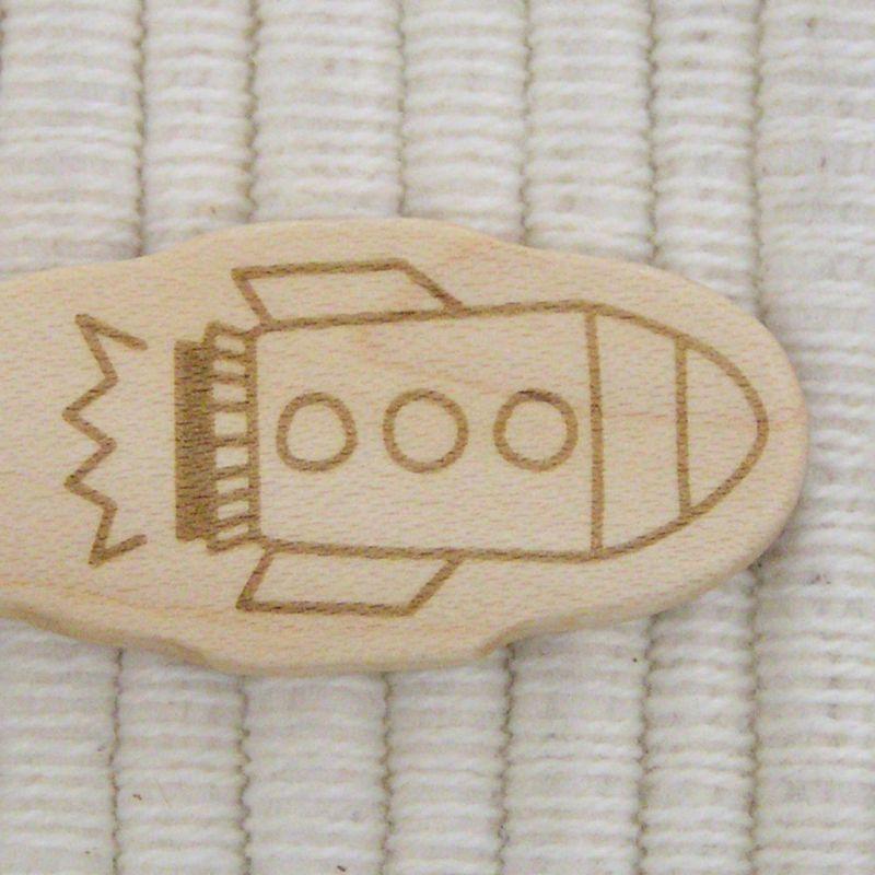 画像3: のりもの◆ロケット スプーン&フォーク