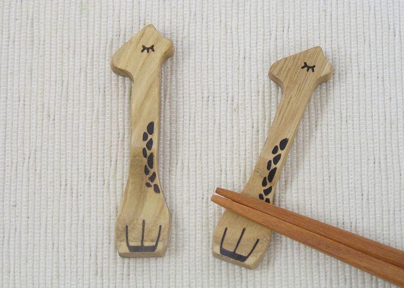画像1: 【売り尽くしセール】きりんの箸置き・クリ