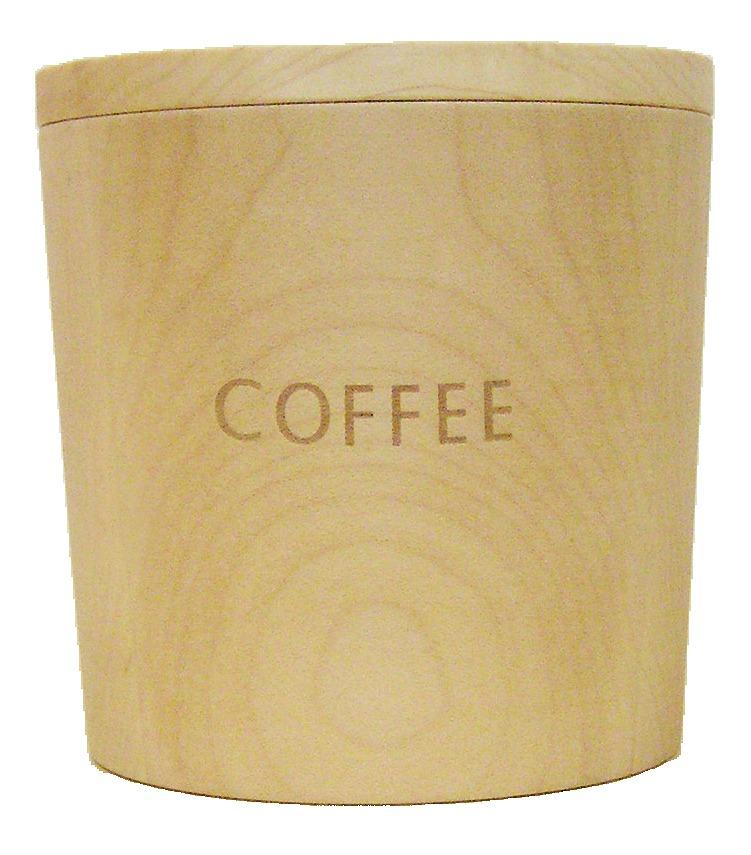 画像1: メープルのコーヒーキャニスター