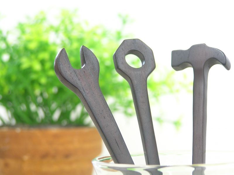 画像4: 工具カトラリー◆レンチ◆スプーン&フォーク
