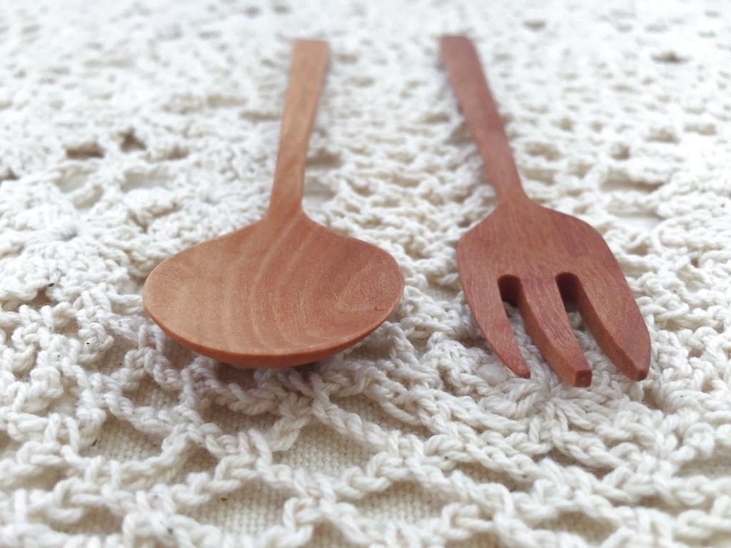 画像2: 【ナチュレ】 テーブルスプーン&フォーク
