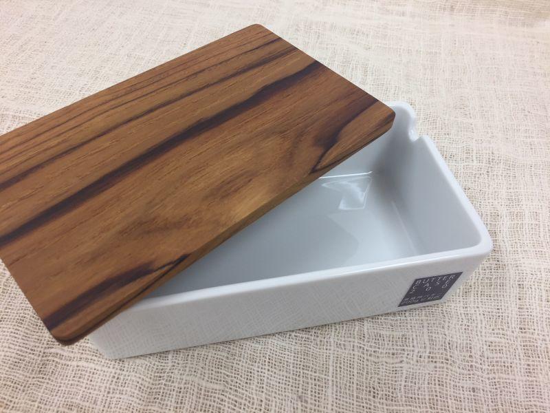 画像1: バターボックス <チークの木蓋>