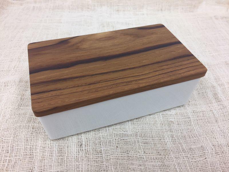 画像2: バターボックス <チークの木蓋>