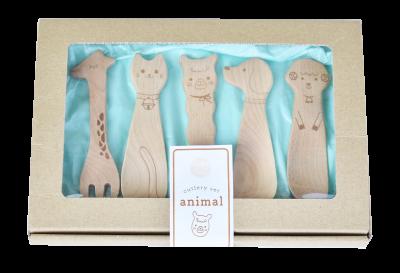 画像1: カトラリーセット animal(アニマル)
